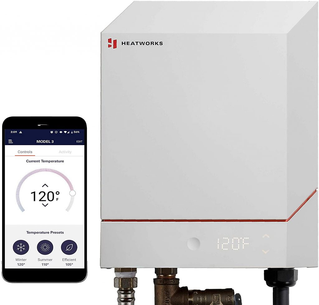 Heatworks Energy Saver Tankless Water Heater